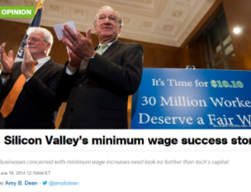 In the News: Just Growth and the Minimum Wage in Silicon Valley