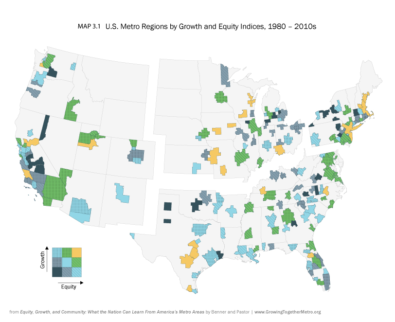 Equity, Growth, and Community - Maps and Charts