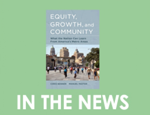 """More than economics: New book explores how equality helps economies grow"""